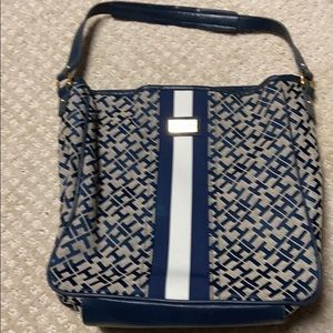 Tommy Hilfiger black and beige purse.  Barely used